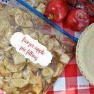 Freezer Apple Pie Filling
