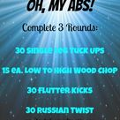 Ab Circuit Workouts