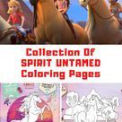 SPIRIT UNTAMED Coloring Pages & Activity Sheets - Guide For Moms