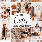 Free Lightroom Preset Bright Cosy   Cappuccino and Fashion