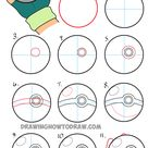 How to Draw Pokeball in Ash's Hand Step by Step Pokemon Drawing Tutorial - How to Draw Step by Step Drawing Tutorials