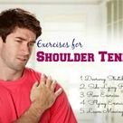 Top 37 exercises to get rid of shoulder tendonitis
