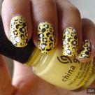 Nail animal print designs