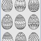 Easter   Free printable coloring pages   Preschool   worksheets   Uskrs   Bojanke za printanje   ra
