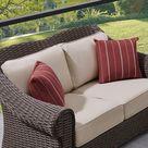 OVE Decors Cedarstone 4-Piece Metal Frame Patio Conversation Set with Olefin Cushions   15PKC-CE1A04-BOD