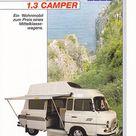 Barkas 1.3 Westfalia Camper (German leaflet)