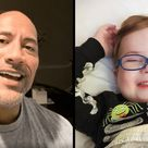 """The Rock Sings the Song From """"Moana"""" to a 3 Year Old Fan Battling Cancer"""