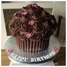 Chocolate Giant Cupcake