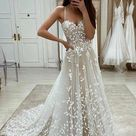 A-line Lace Wedding Dresses ,Fashion Custom made Bridal Dress PDW058 - US8 / Other color(put color name in order note) / No