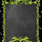 FREE Chalkboard style Invitation Templates