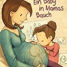 Ein Baby in Mamas Bauch. Anna Herzog, Joëlle Tourlonias Gebunden - Buch