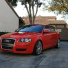 2006 Audi A3 2.0T 6MT Brilliant Red Tasteful Mods only...