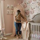 Baby girl nursery design ideas