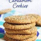 Tahini Cardamom Cookies - Nadia's Healthy Kitchen