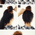 The Quickest, Coolest Top Knot You'll Ever Try