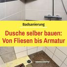 Dusche selber bauen | selbst.de