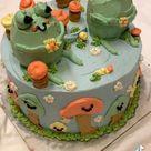 cute froggy cake
