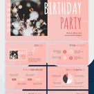 Birthday Party Google Slides Theme and PowerPoint Template