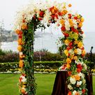 40 Outdoor Fall Wedding Arch and Altar Ideas