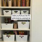 ORGANISATION  SPEISEKAMMER - Organisation Küche #organisation #küche #speisekammer #aufbewahrung