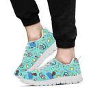 Men's Scrubs Sneakers - Black Character - Turquoise / US13 (EU47)