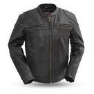 MKL   Specialist Men's Motorcycle Leather Jacket   3XL