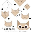 Schritt für Schritt Anleitungen, wie Origami Stock Vektorgrafik Lizenzfrei 364273331