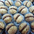 Knusprige Nusskugeln mit Schokoladencreme   saraokla