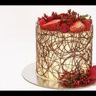 Chocolate Border Cake Tutorial- Rosie's Dessert Spot