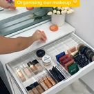 Easy Hack to Organize Your Makeup Quickly