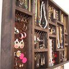 Jewelry Organizer Wall