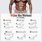 """TRAINFORMOTIVATION on Instagram: """"Want those V-lines? Try these exercises 👆🏻 LIKE if you found this useful and FOLLOW @factsoftraining for more training tips 💪🏻 . 📷 Tag us…"""""""