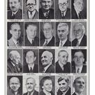 A1 Poster. Members of the cabinet of Britain's Labour