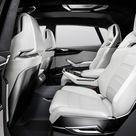 2017 Audi Q8 Sport Concept   Interior, Rear Seats