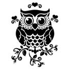 Owl SVG / Owl DXF / Owl PDF / Owl Png, Night bird svg, smart symbol, night symbol, owl bird svg