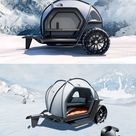 BMW's Designworks Unveils Concept Camper Designed from Ultralight Fabric at CES 2019