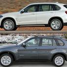Photo Comparison 2014 BMW X5 F15 vs. E70 X5
