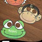 FREE Printable Animal Masks Templates