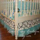 Ruffled Crib Skirts