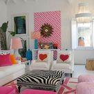 Home decor | Living room | Aesthetic |  Colorful vibes | House decorations