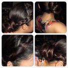 Side Braid Buns