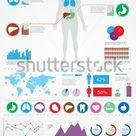 Medical Infographics Human Body Internal Organs Stock Vector (Royalty Free) 93616288