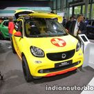 Smart ForFour Brabus Forrescue showcased at IAA 2017   Live