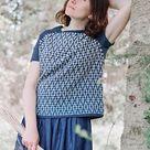 Vilia Sweater pattern by Tatsiana Kupryianchyk