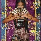 print pant, showcased by Jhene Aiko
