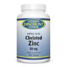 Zinc 50 mg Amino Acid by Vitamin Discount Center   250 Tablets