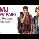 TMJ (Jaw Pain): Two Release Techniques