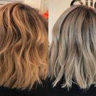 Will dark ash blonde cover orange brassy hair Two ways of toning your hair