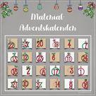 Hier findet ihr alle Materialien unseres Adventskalenders 🎄