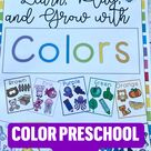 Color preschool game